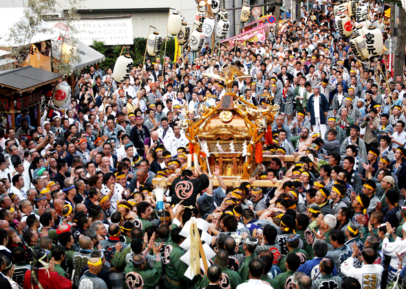 だらだら祭り2018年の日程や見どころは?芝大神宮のご利益グッズも紹介!