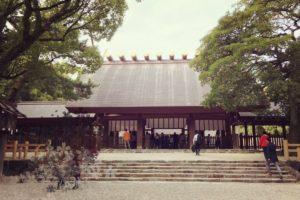 熱田神宮の初詣2019の屋台や混雑予想は?魅力的なパワースポットが満載!