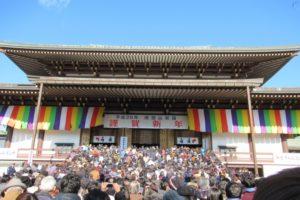 成田山新勝寺の初詣2019のご利益や混雑情報は?お不動様のパワーを吸収しよう!