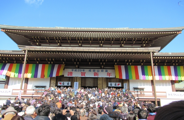 成田山新勝寺の初詣2018のご利益や混雑情報は?お不動様のパワーを吸収しよう!