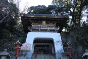 江島神社の初詣2018の混雑する時間は?気になるご利益とパワースポットも紹介!