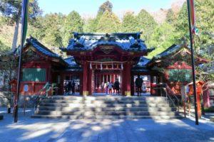箱根神社の初詣2019の混雑予想や駐車場は?花火の打ち上げも魅力的!