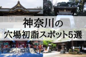 【2018年】神奈川の穴場初詣スポット5選!混雑を避けたいあなたにおすすめ!
