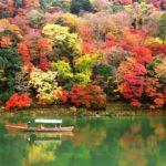嵐山嵯峨野トロッコの紅葉2018!見ごろの時期は?周辺おすすめグルメも紹介!